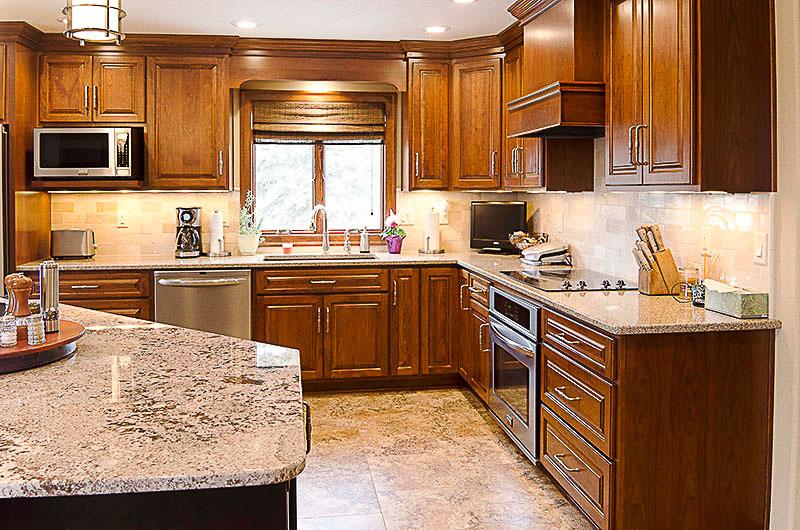 Sample corner kitchen setup vogl 39 s woodworking for Kitchen setup