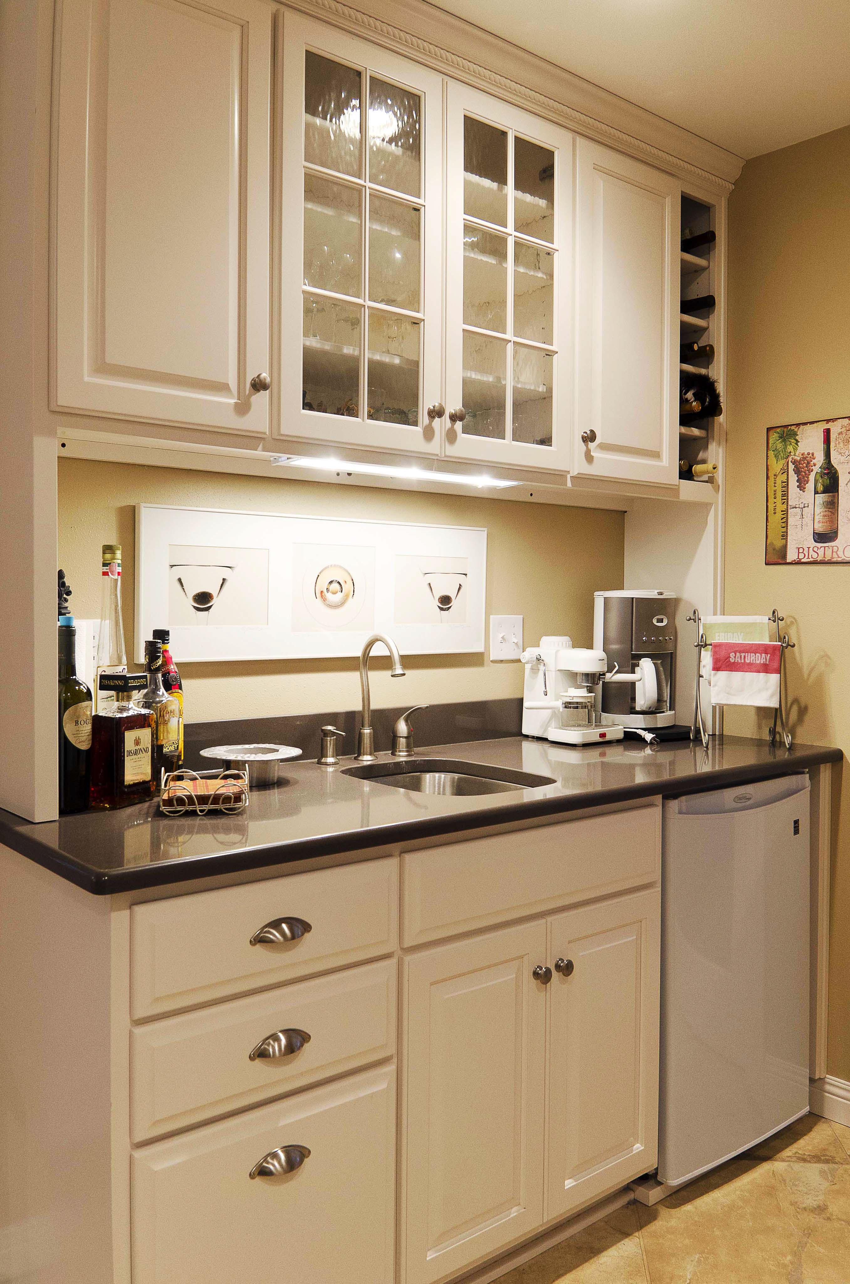 White Kitchen Setup